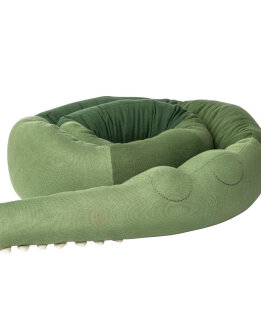 XXL Sebra sleepy croc - Pine green